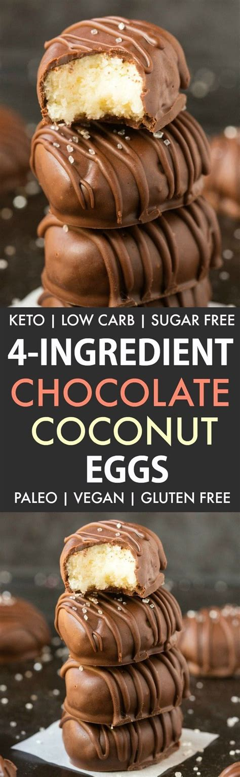 Are you getting ready with some ideas of amazing easter dessert recipes that will be memorable for kids and ideal for a crowd? Keto Sugar Free Easter Eggs (Paleo, Vegan, Dairy Free) - The Big Man's World ®   Recipe in 2020 ...