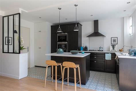 cuisine style scandinave appartement décoration scandinave hauts de seine