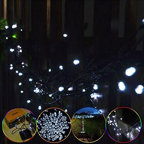 best review of inst solar powered 100 led string light for