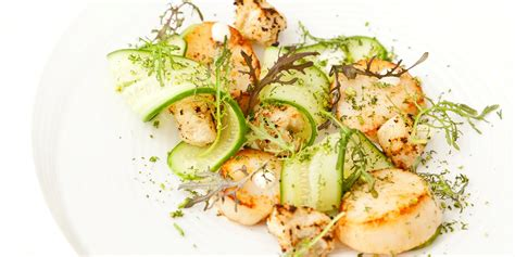 scallops  lime mayonnaise recipe great british chefs