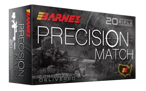 Barnes Precision Match 338 Lapua Magnum 300 Gr Otm Bt 20