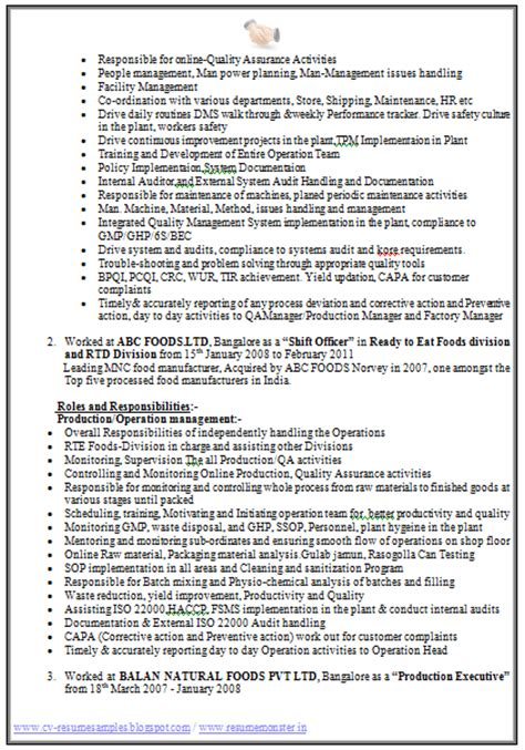 resume format for experienced 2014 10000 cv and resume sles with free cv format for experienced