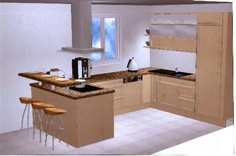 modele implantation cuisine atouts cuisines