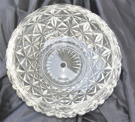 cubist glass ceiling light shade cover single center hold