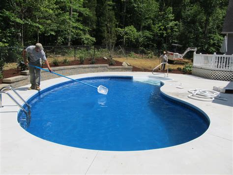 In Ground Swimming Pools