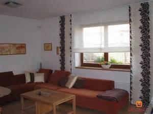 farbwahl wohnzimmer kombination raffrollo und japanischer wand ideen unserer designer heimtex ideen