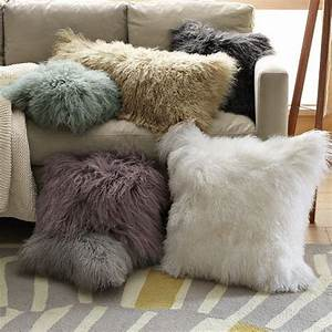 1000 ideas about fur pillow on pinterest faux fur With big fluffy pillows sale
