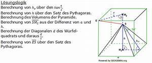 Pyramide Berechnen Formel : pflichtteil 2010 realschulabschluss fit in mathe ~ Themetempest.com Abrechnung