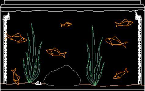 small aquarium  dwg block  autocad designs cad