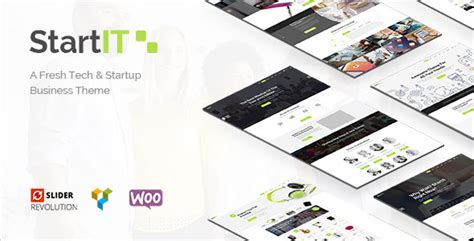 Startit - A Fresh Startup Business Theme - Weblord