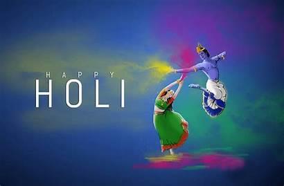 Holi Happy Wallpapers Wishes Greetings Krishna 3d
