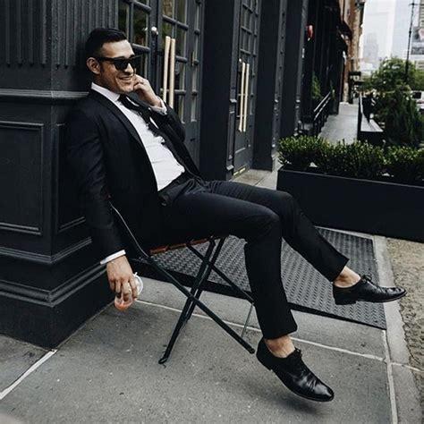 ᐅ costume noir homme comment bien le porter 169 tieclub fr