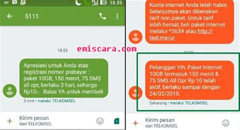 lumayan registrasi kartu telkomsel  gratis kuota gb