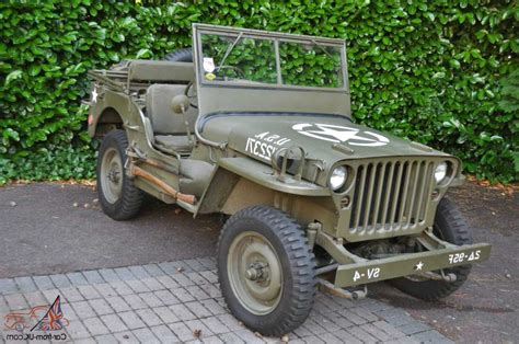 hand ww willys jeep  ireland view  bargains