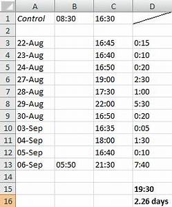 Excel spreadsheet to calculate hours worked spreadsheets for Template to calculate hours worked