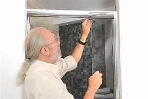 Bricolage Avec Robert : traverses de la porte de douche ~ Nature-et-papiers.com Idées de Décoration