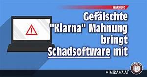 Rechnung Von Klarna : warnung vor gef lschter klarna rechnung mimikama ~ Haus.voiturepedia.club Haus und Dekorationen