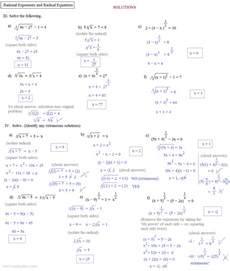 Algebra 1 Factoring Worksheet Math Plane Rational Exponents And Radical Equations