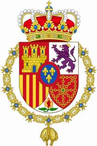 File Coat Of Arms Of Spanish Monarch Svg