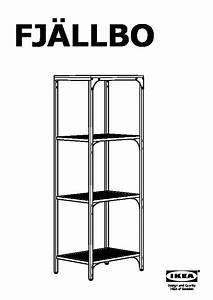 Etagere Inox Ikea : fjllbo tagre with etagere acier ikea ~ Teatrodelosmanantiales.com Idées de Décoration
