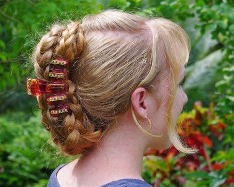 banana hair clip styles braids hairstyles for hair banana clip style 5757