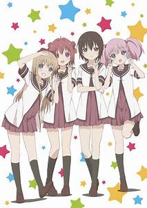 Yuru Yuri 3rd Season Airs This October - Haruhichan