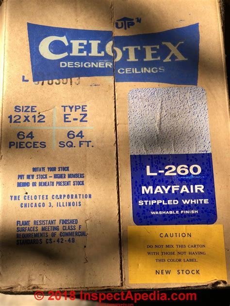 celotex insulating products believed   asbestos