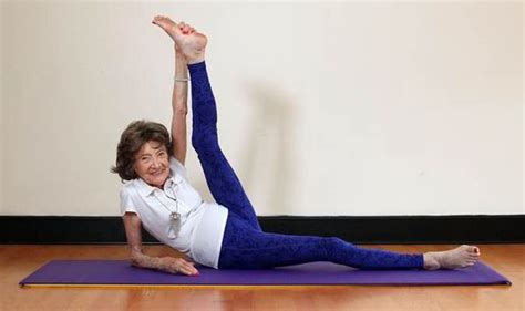 worlds oldest yoga teacher brings peace  mind  young
