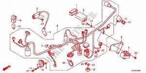 Wire Harness  Battery For Honda Cb 150 Invicta 2011   Honda