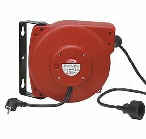 Enrouleur Electrique Automatique : kstools c enrouleur lectrique 220v automatique 20m ~ Edinachiropracticcenter.com Idées de Décoration