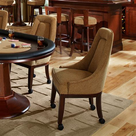 quality chairs w casters custom leather