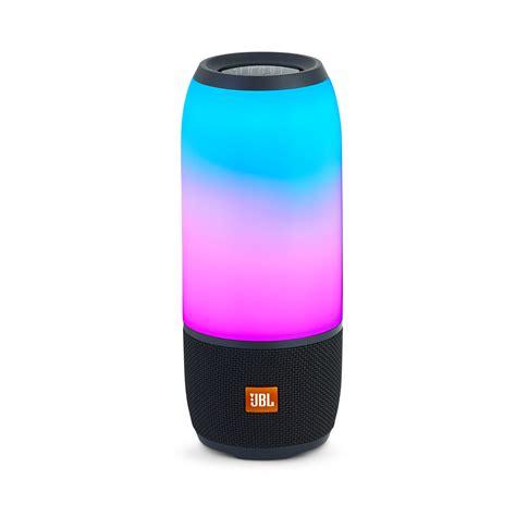 jbl color changing speaker jbl pulse 3 waterproof bluetooth speaker with 360 176 lightshow