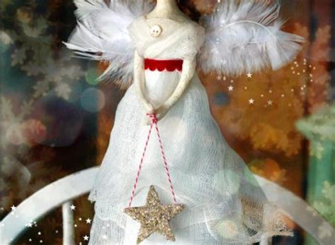 old fashioned angel tree topper crafts pilot