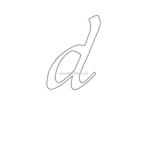 printable lowercase letter stencils 5 best images of letter d lowercase stencils printable