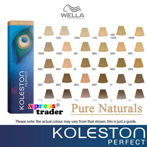 wella koleston perfect permanent hair color dye  pure