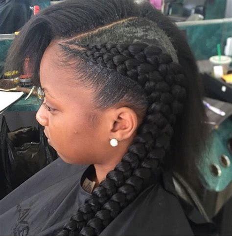 double cornrows natural hair braids girls hairstyles braids