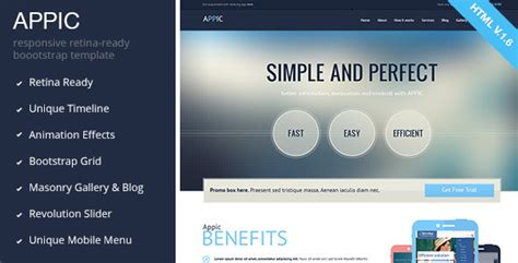 25+ Responsive Technology Website Templates For 2014