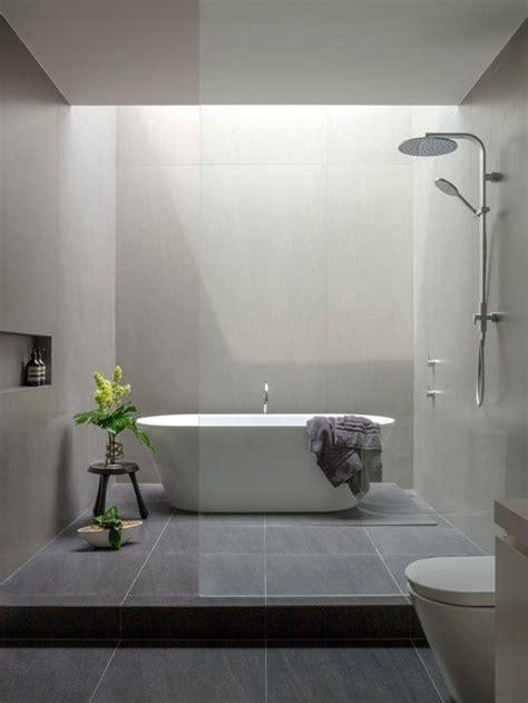 Modern Bathroom With Tub by Modern Bathroom Design Ideas Renovations Photos With An