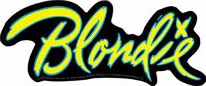 Blondie Band Logo Sticker