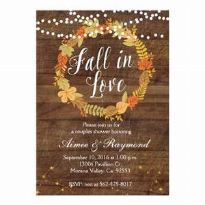 25 best ideas about bridal shower fall on pinterest With wedding invitations for november