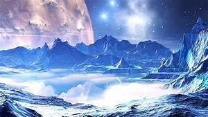 2560x1440 Space, Reflection, Stars, Water, Planet ...