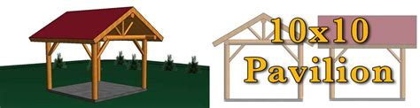 10x10 log pavilion meadowlark log homes