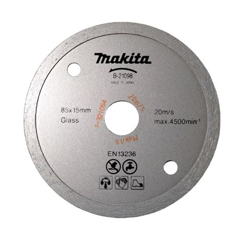 Makita Tile Saw Blade by Makita B21098 Spare Saw Blade 85mm The Wholesale