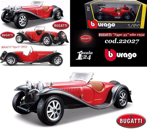 An original should be right hand drive. Bugatti Type 55 Año1932 B Burago Réplica Escala 1:24 *nuevo* - $ 1.850,00 en Mercado Libre