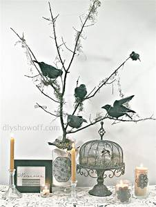 DIY Halloween Nevermore Tree decorDIY Show Off ™ – DIY