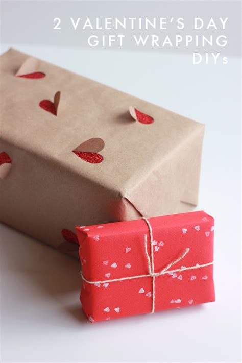 2 simple 39 s day gift wrapping ideas the house