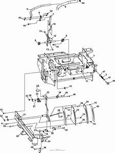 Bunton  Bobcat  Ryan 942533 Procat Se Kaw Fx730v W  61 Side Discharge Parts Diagram For Steering