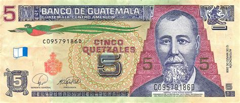 Billete de cinco quetzales Wikipedia la enciclopedia libre