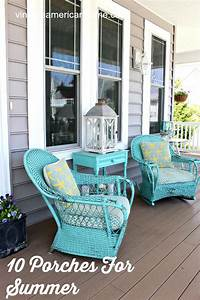 front porch decorating ideas 10 Front Porch Decorating Ideas - Vintage American Home