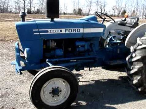Ford 3600 Diesel Tractor For Sale   YouTube
